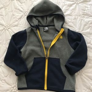 Toddler Boy North Face Jacket